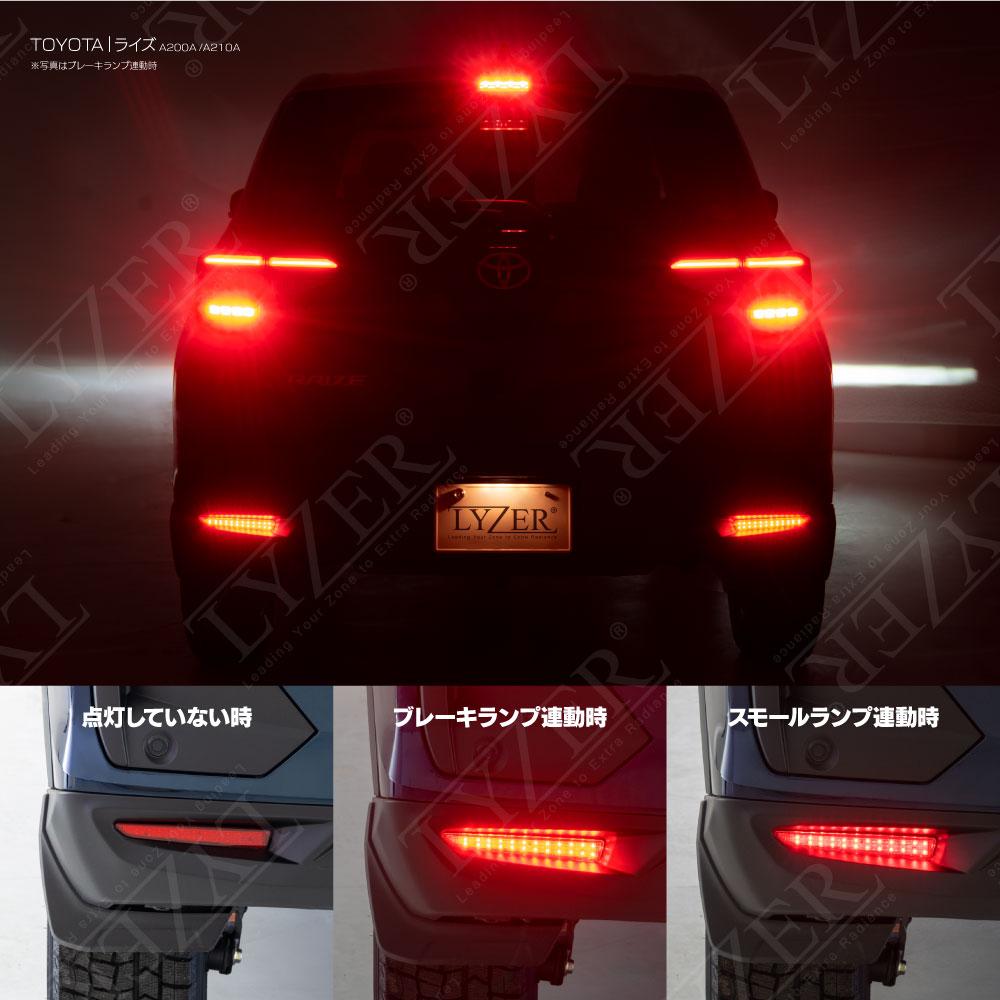 LEDリフレクター取付
