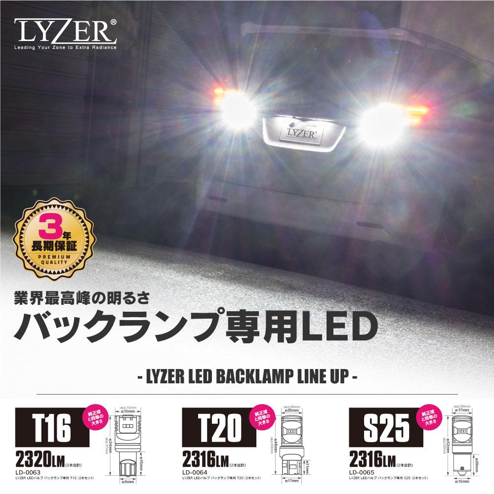 LYZER LEDバックランプ