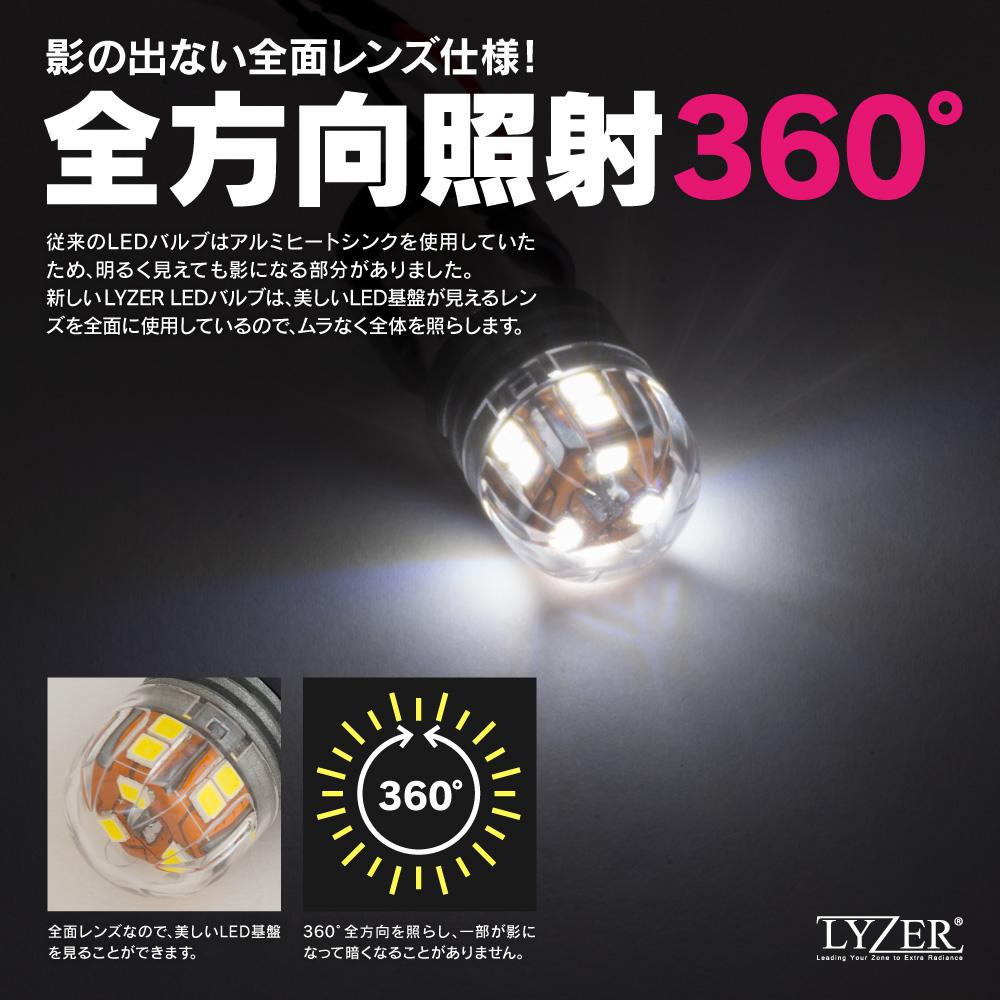 LYZER 新型LEDバルブ